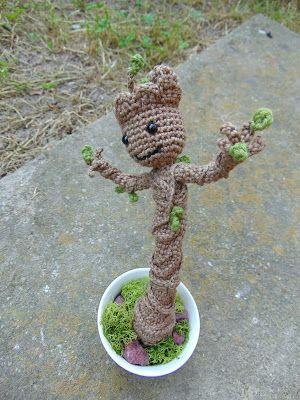Groot by Fancy Crochet