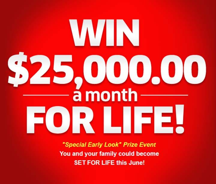 entering sweepstakes for a living pch com win 25 000 00 a month for life superprize 3580