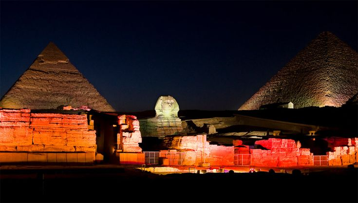 Sound &Light Show at The pyramids - Cairo Day Tours http://www.maydoumtravel.com/egypt-classic-tours-and-travel-packages/4/1/16