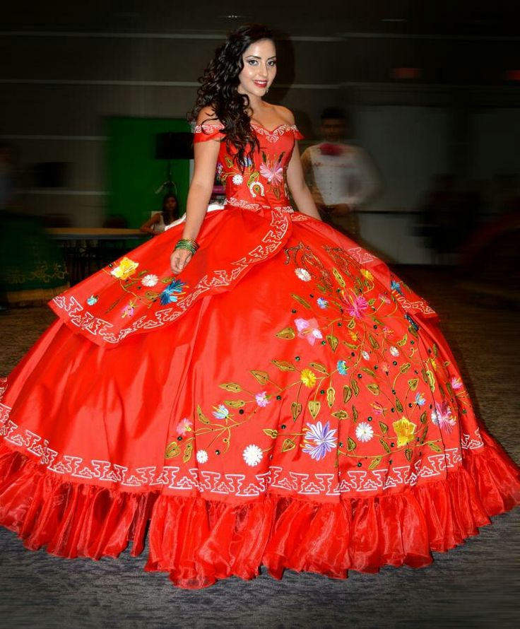 17 Best images about Mexican Style Quinceañera Dresses on ...