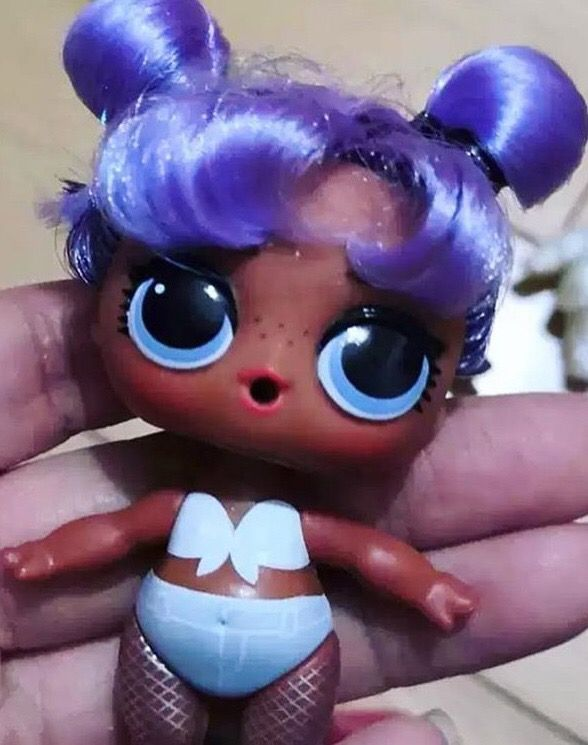 LOL Surprise Doll DARING DIVA Big Sis Sister Dolls Babe HAIRGOALS Purple Kitty