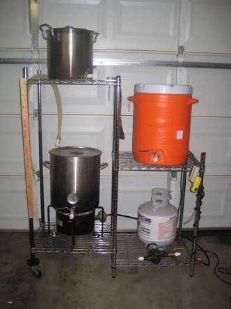 resultado de imagen para all grain home brewing equipment setup