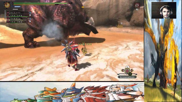 Monster Hunter 3 Ultimade Online Staffel 1 A New Hunter