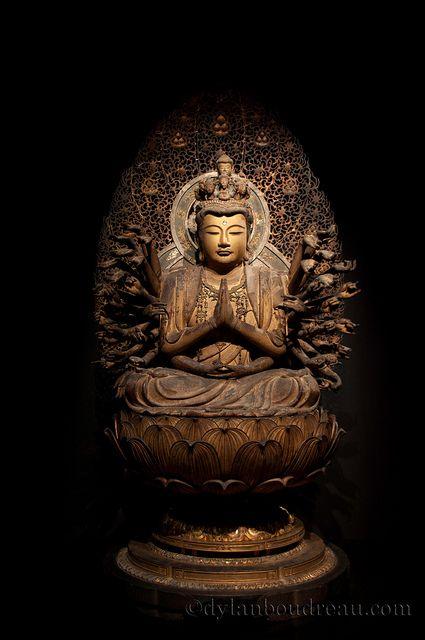Avalokiteshvara, bodhisattva of compassion (one of the original disciples of the Buddha--the male antecedent to Kwan Yin)