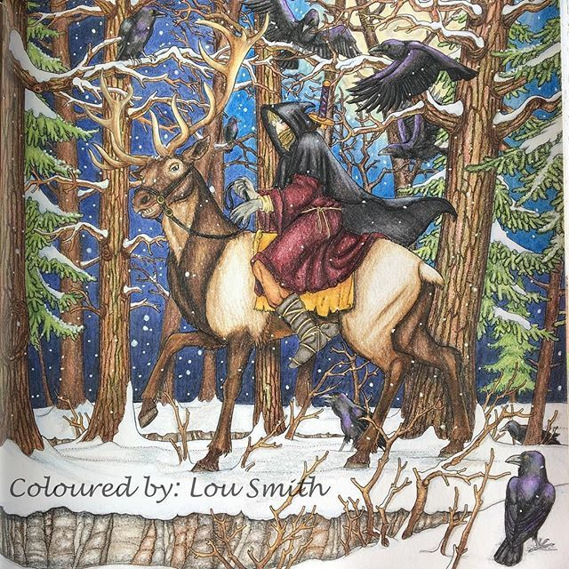 All Done With Cold Hands From The Game Of Thrones Coloring Book Loved This One Really Enjoyed Colouring It Coloring Books Game Of Thrones Books Color Games