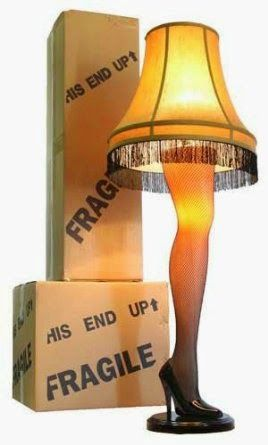 """A Christmas Story Full Size 45"""" Leg Lamp - Store Online for Your Live and Style"""