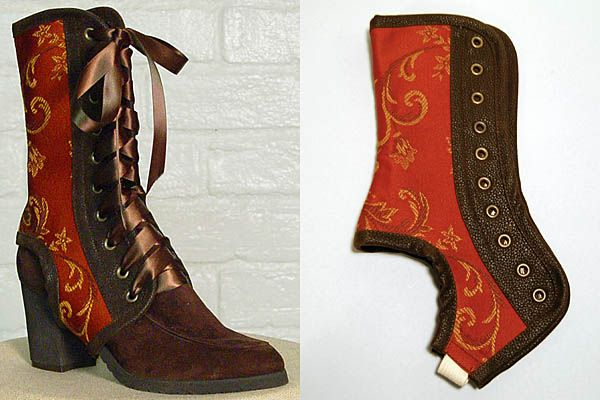 Spats! might have to try my hand at making these...