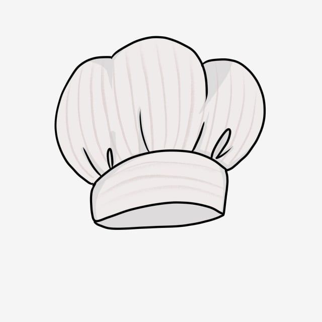 White Chef Hat Illustration Chef Hat Clipart White Chef Hat Fashion Chef Hat Png Transparent Clipart Image And Psd File For Free Download Bakery Logo Design Chefs Hat Baking Logo Design