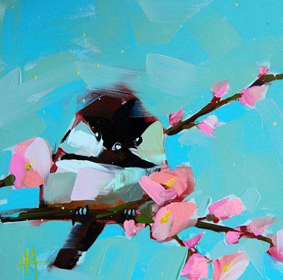 Carbonero no. 520  8 x 8 pulgadas (20.32 x 20.32 cm) con borde blanco pequeño  Impresión digital sobre papel de arte fino libre de ácido de arcos.  Viene con respaldo rígido en una manga claro.  Autor: Angela Moulton ©