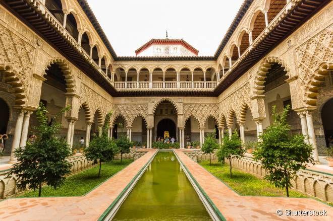 Espanha - O Real Alcázar é o conjunto de palácios mais antigos do continente europeu