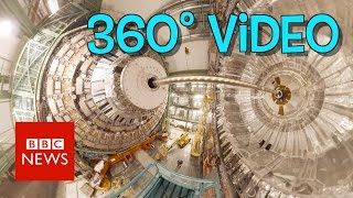 A 360 tour of CERN that takes you deep inside the Large Hadron Collider – the world's greatest physics experiment – with BBC Click's Spencer Kelly. Watch the FULLClick 360 episode now on  http://www.youtube.com/BBCClick/ Rate it on BBC Taster...