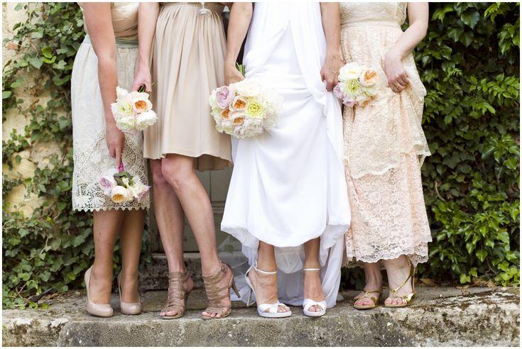 Cute Bridesmaids dresses - Chateau Rigaud - Bordeaux - France - www.emmasekhon.com