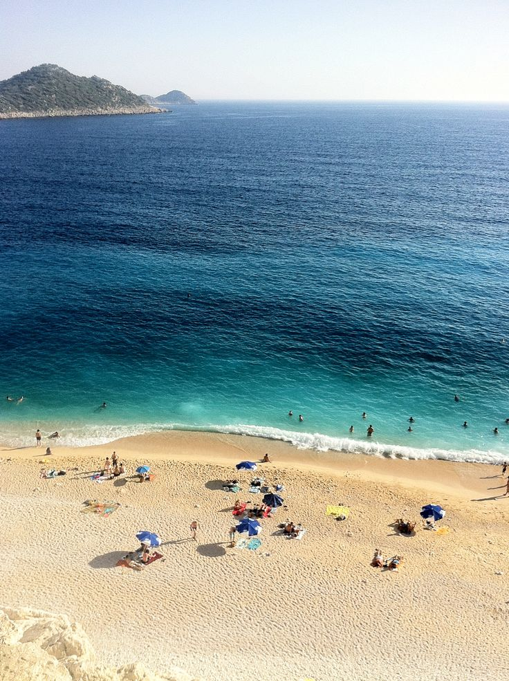 The Kaputas Beach in Kalkan