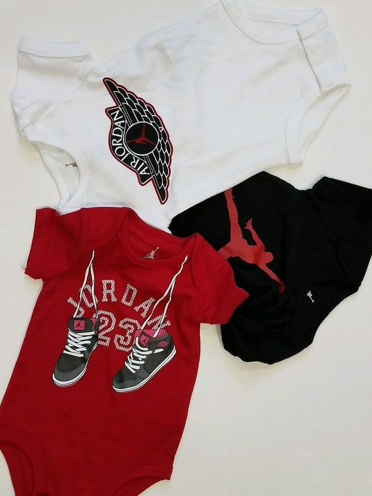 Air Jordan Nike Baby Boy Outfits Set of 3 pc Bodysuit 6-9 month #Nike #CasualFormalParty
