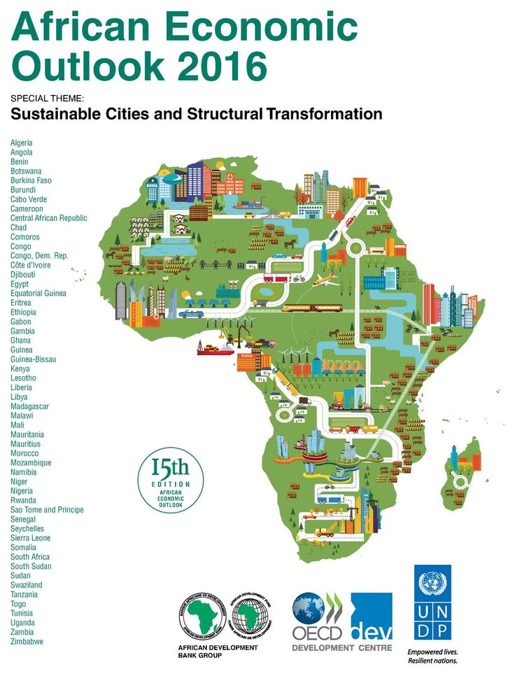 African Economic Outlook 2016 cover #map #africa #economy