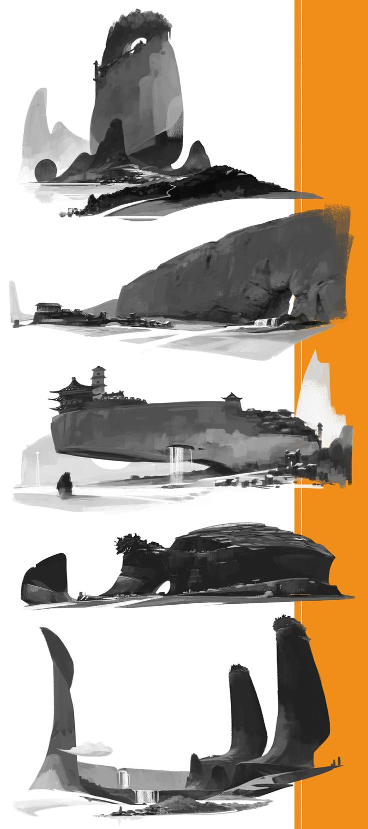 Bordertown/Town/Thumbnails by alantsuei.deviantart.com on @DeviantArt ★ || CHARACTER DESIGN REFERENCES (https://www.facebook.com/CharacterDesignReferences & https://www.pinterest.com/characterdesigh) • Love Character Design? Join the #CDChallenge (link→ https://www.facebook.com/groups/CharacterDesignChallenge) Share your unique vision of a theme, promote your art in a community of over 30.000 artists! || ★