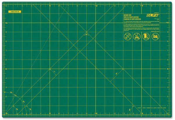 OLFA 9891 RM-MG 24-Inch x 36-Inch Self-Healing Double-Sided Rotary Mat:Amazon:Home Improvement