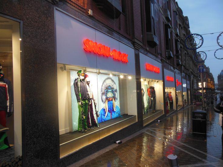Brand new Snow+Rock shop in Leeds - opened November 2014