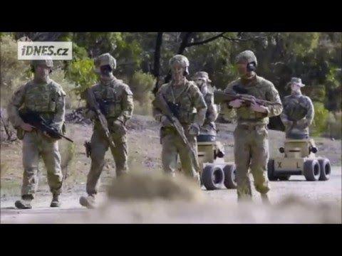Mariňáci začali střílet na inteligentní terče .Dokáží se schovat i uhnout