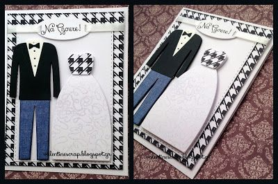 Wedding Card by Valentine's Craft: Να Ζήσετε