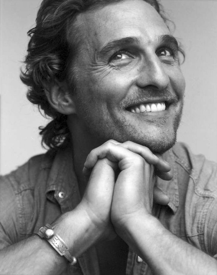 Matthew Mcconaughey - oh that smile