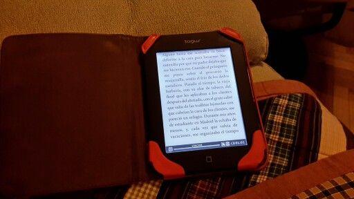 A esto no le pongo ni un pero, mi e - book  y mis noches en vela.