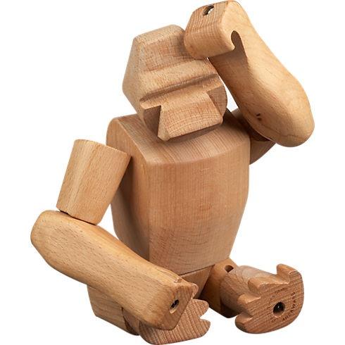 hanno the gorilla, moving sculpture   CB2: Accessories Offer, Door Knockers, Moving Sculpture, Apartment Fantasy, Tables Tops, Future Apartment, Doors Knockers, Tops Décor