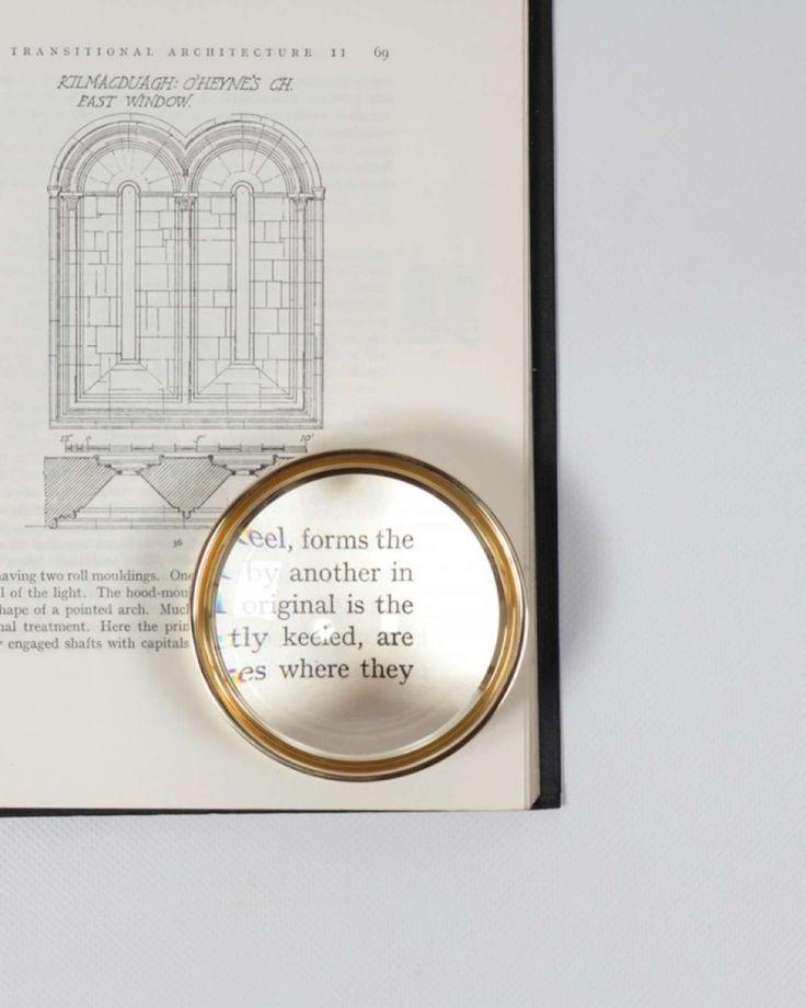 Magnifying glass for office | Simon James Design