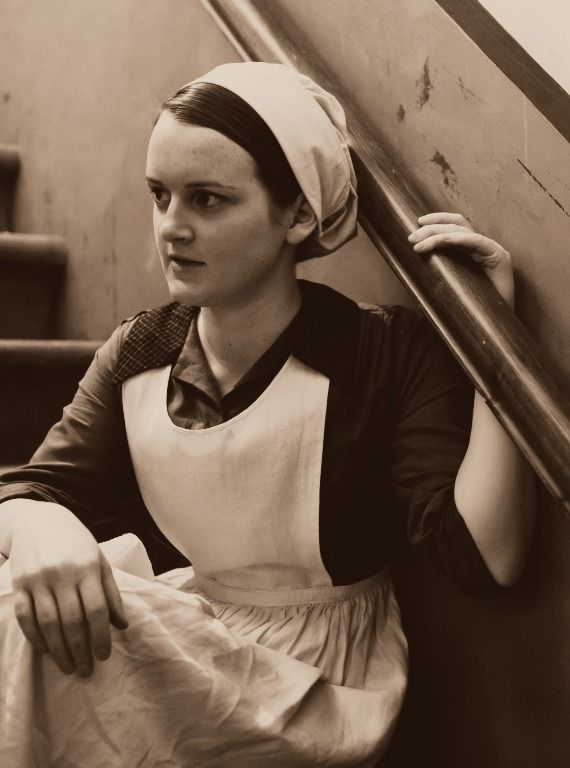 Daisy - below stairs kitchen character in Downton Abbey
