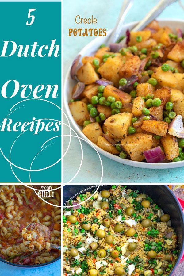 Dutch Oven Vegan Recipes Healing Tomato Recipes In 2020 Frozen Vegetable Recipes Autumn Recipes Vegetarian Peas And Mushrooms Recipe