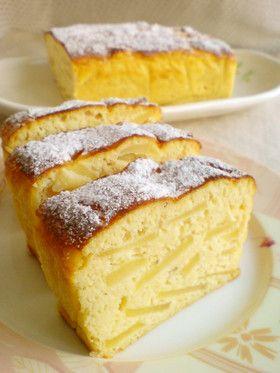 ノンオイル☆ノン小麦粉☆おから林檎ケーキ