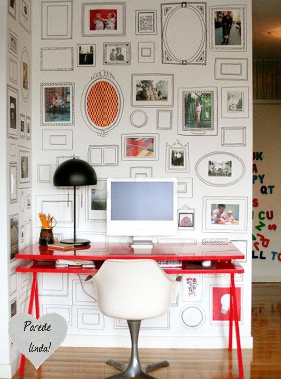 dcoracao.com - blog de decoração: Papel de parede, em dose dupla