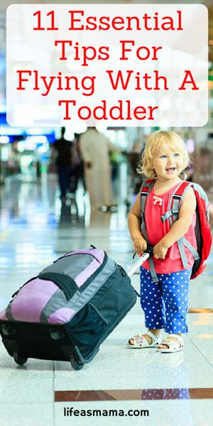Flying with a toddler is anything BUT easy. Make your life and those around you as simple as possible with these tips. Genius!