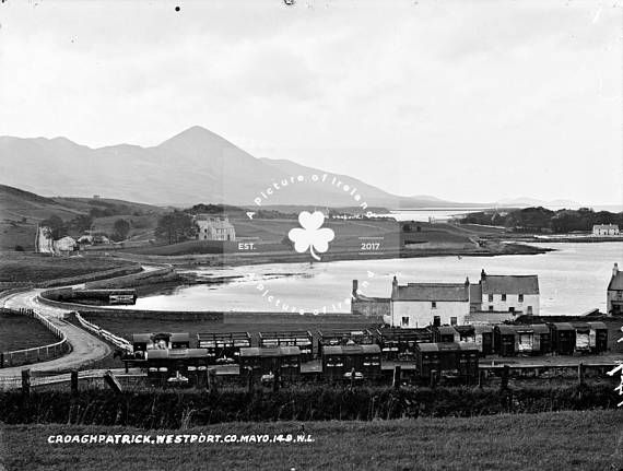 Croagh Patrick Mayo Ireland c.1890 ANTIQUE Photo DOWNLOAD