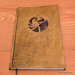 Foster Leathercraft: Prototype, Leather Journal