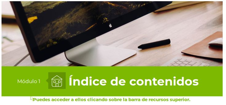 Índice | Contenidos | Material del curso MOOC03 | InnovamoocEducaMadrid