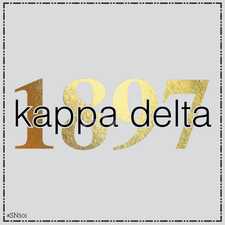 Geneologie | Greek Tee Shirts | Greek Tanks | Custom Apparel Design | Custom Greek Apparel | Sorority Tee Shirts | Sorority Tanks | Sorority Shirt Designs  | Sorority Shirt Ideas | Greek Life | Hand Drawn | Sorority | Sisterhood | Sorority Name | Kappa Delta | 1897 | Foil | Gold | KD