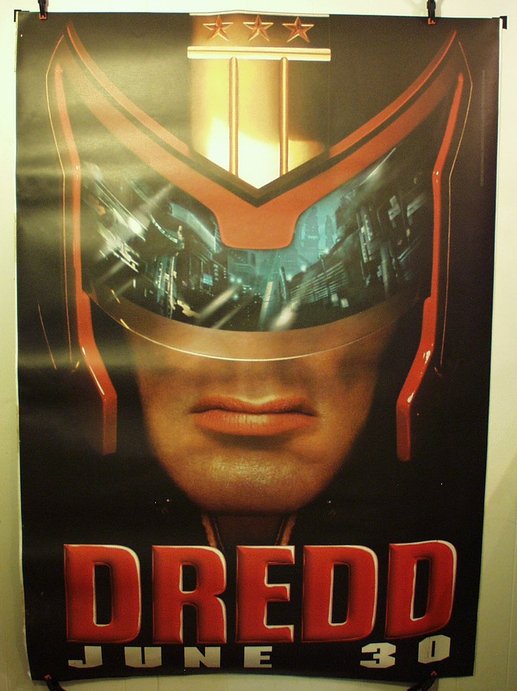 Judge Dred Preview Bus Stop Poster 1995 Huge 4 ft by 6 Ft | eBay