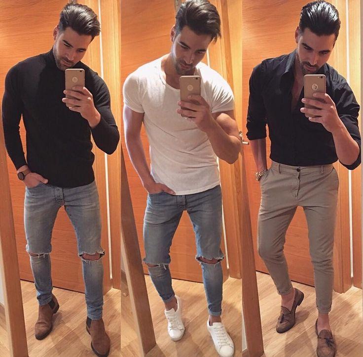"""3,737 Likes, 39 Comments - MODA MASCULINA • LIFESTYLE (@itboy_) on Instagram: """"3 opções de #outfits pra enfrentar a #quinta-feira. Vou de 1️⃣ e vocês❓// #itboy : @raemonalba """""""