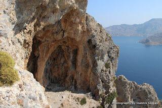 The Telendos Caves  http://www.discoveringkos.com/2013/12/the-telendos-caves.html
