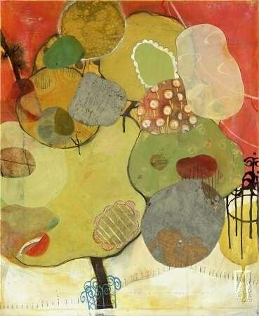 Ellis Park by Liz Tran  #art #decor #contemporary #abstract #artsy