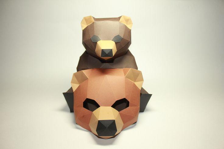 Медведь и Маска Медведя