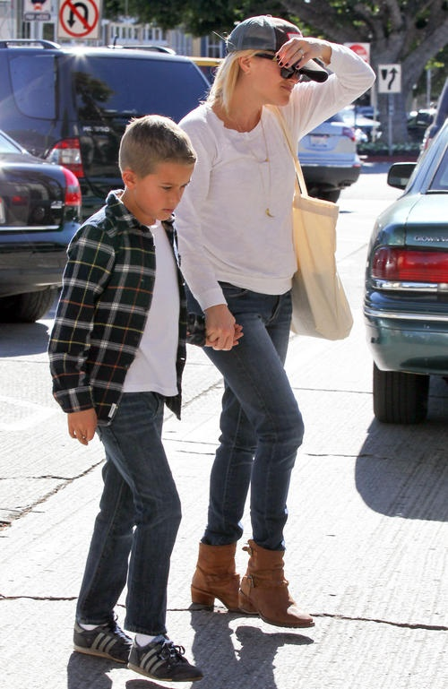 Reese Witherspoon and her son - I want to still be able to hold my son's hand like this when he gets older!