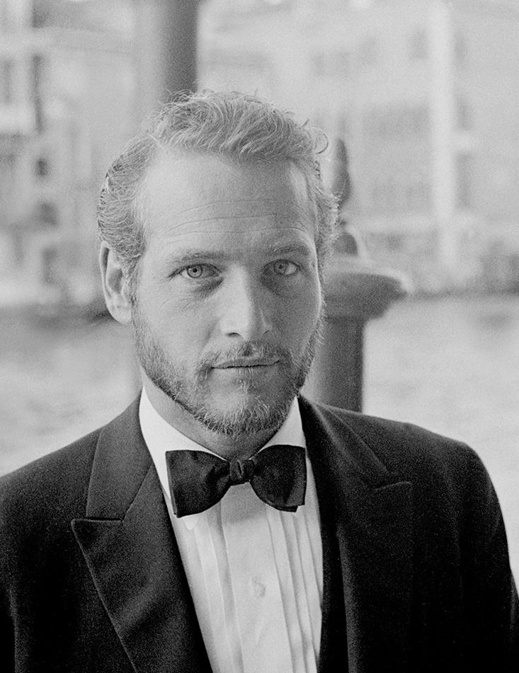 Paul Newman photographed in Venice by Graziano Arici, 1963