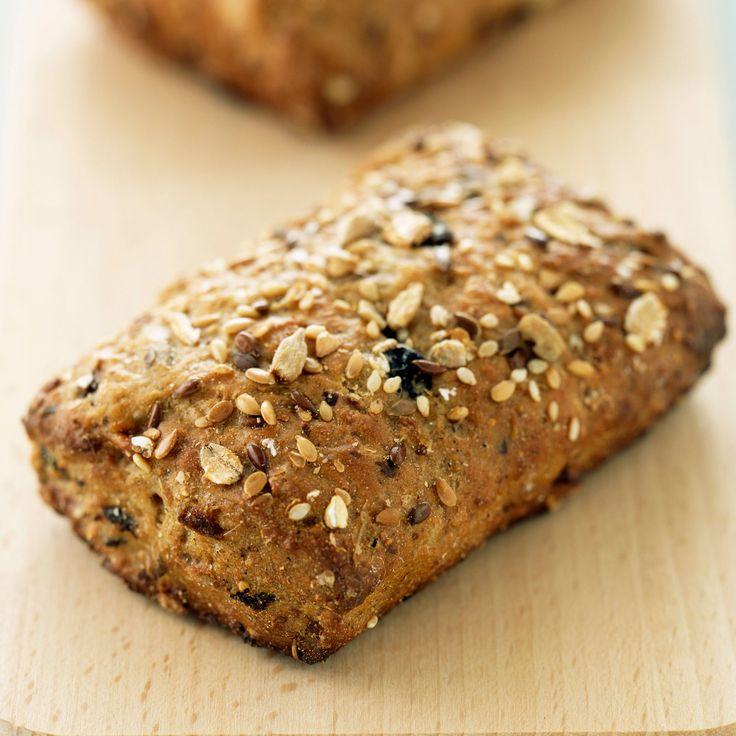 Découvrez la recette Petits pains aux céréales sur cuisineactuelle.fr.