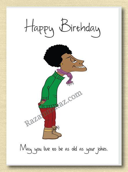 African American Male Birthday Card A African Birthday