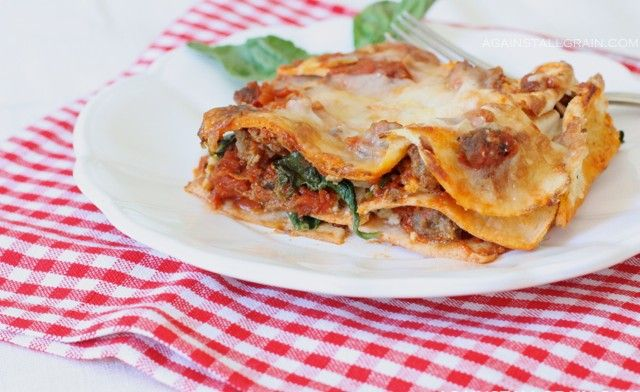 lasagna with homemade grain-free noodles #paleo: Lasagna Noodles, Homemade Grains Fre, Paleo Lasagna, Grains Free, Gluten Free, Homemade Noodles, Free Lasagna, Coconut Flour, Grains Fre Noodles