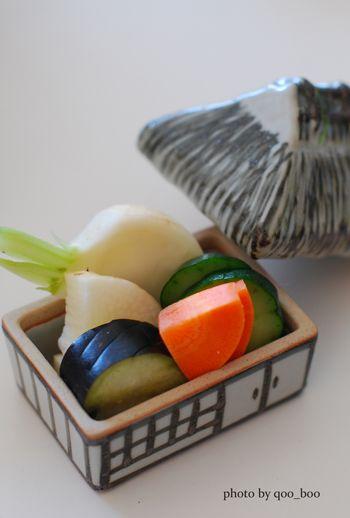 Nukazuke Veggetables, Japanese Pickles|ぬか漬け