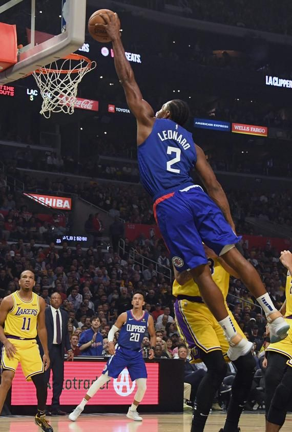 Kawhi Leonard Poster Los Angeles Clippers Glossy Quality Print Etsy In 2020 Los Angeles Clippers Nba Pictures Nba Basketball