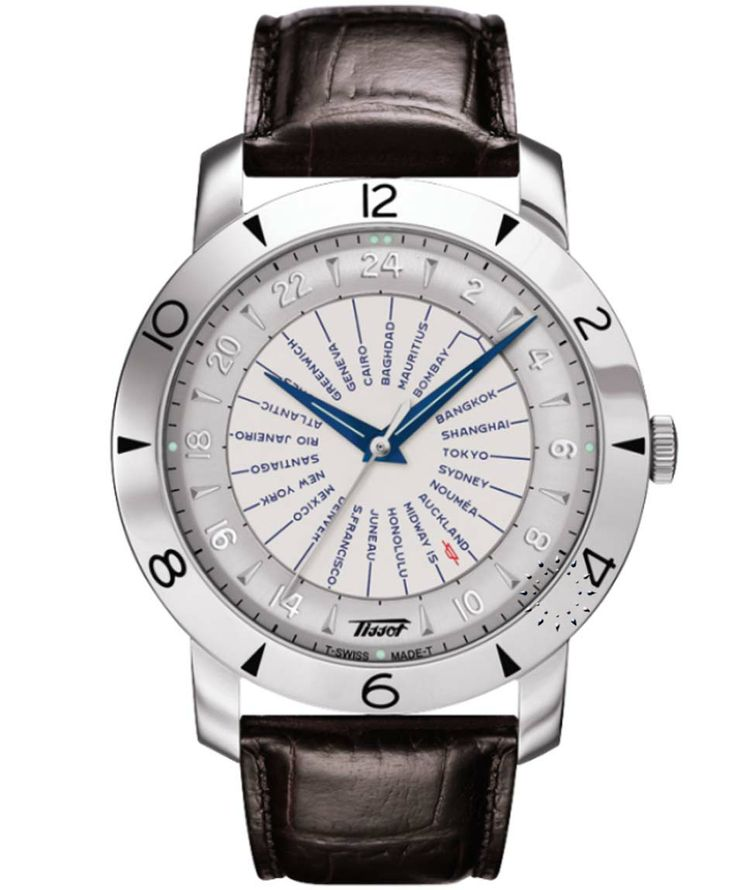 TISSOT Heritage Navigator Automatic Brown Leather Strap Η τιμή μας: 1.155€ http://www.oroloi.gr/product_info.php?products_id=37075